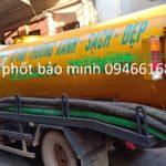 Hút bể phốt tại huyện Kim Động
